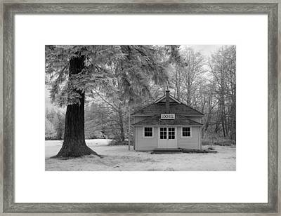 Lochiel School House Framed Print