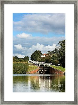 Lock Gates Framed Print by Jane Rix