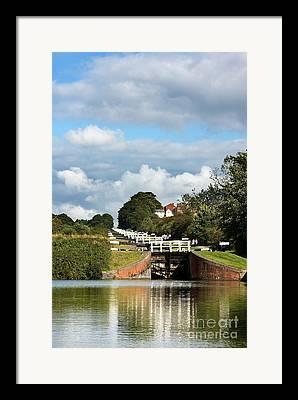 Narrow Boats Framed Prints