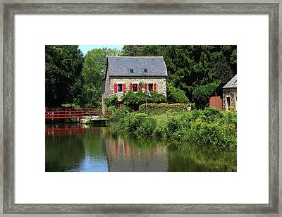 Lock Keepers Cottage Framed Print by Aidan Moran