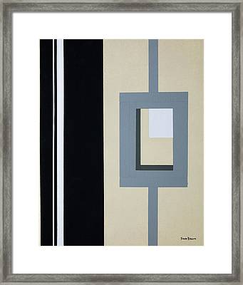 Lock Framed Print by Slade Roberts