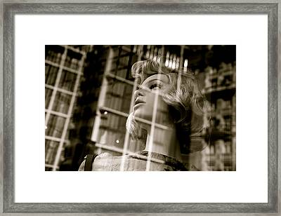Locked In  Framed Print