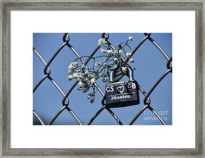 Locked In Love Framed Print