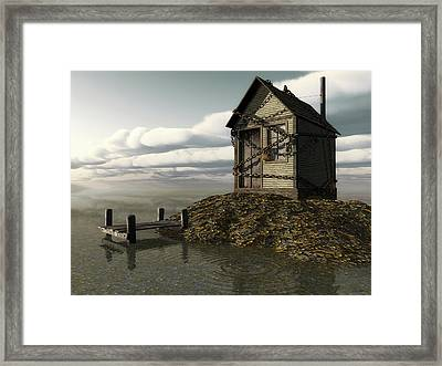 Locked Out Framed Print by Cynthia Decker