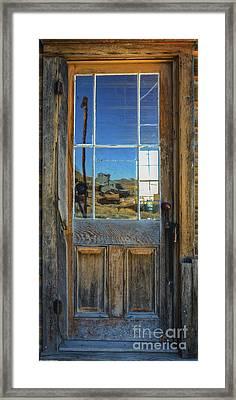 Locked Up Memories Framed Print by Mitch Shindelbower