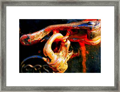 Locked Up Framed Print by Susan Moore