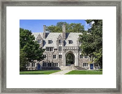 Lockhart Hall Princeton  Framed Print by John Greim