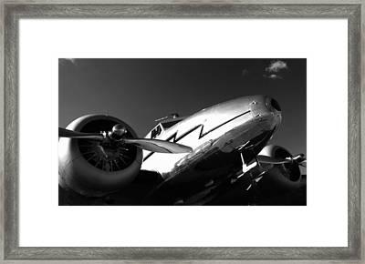 Lockheed 12a Electra Junior 1936 - I Framed Print by Maxwell Amaro