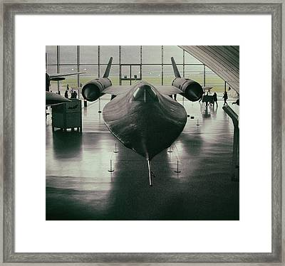 Lockheed Blackbird Framed Print