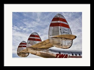 Lockheed Framed Prints