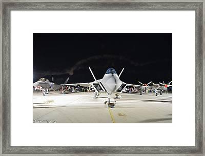 Lockheed X3 Framed Print by Matt Abrams