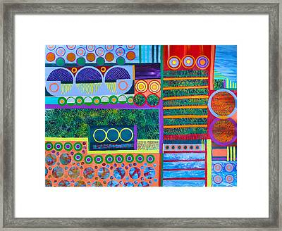 Locomotion Framed Print