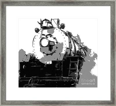 Locomotion Framed Print by Richard Rizzo