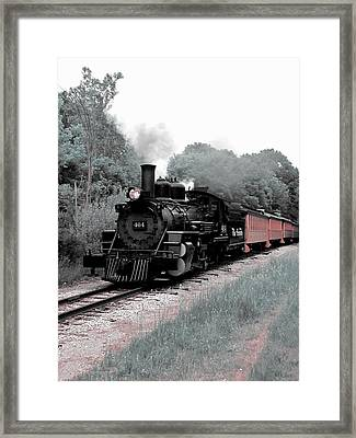 Locomotion Framed Print by Scott Hovind