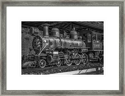 Locomotiva-conservatoria-rj Framed Print