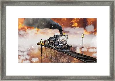 Locomotive Breath Railway Framed Print