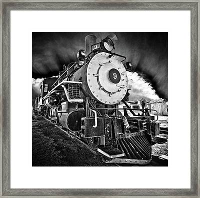Locomotive Nine Framed Print