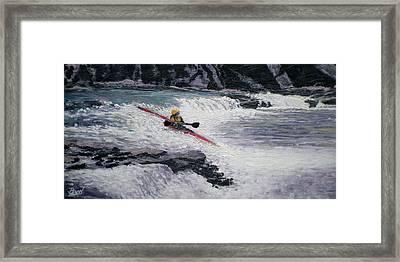Locust Fork Fall Framed Print by Bill Brown