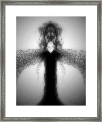 Locust Girl Framed Print by Heather King