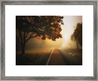 Lode Lane Framed Print by Chris Fletcher