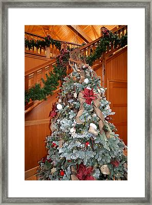 Lodge Lobby Tree Framed Print