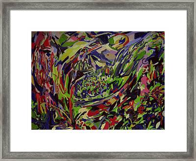 Lodge Of Bliss  Framed Print by Tadeush Zhakhovskyy