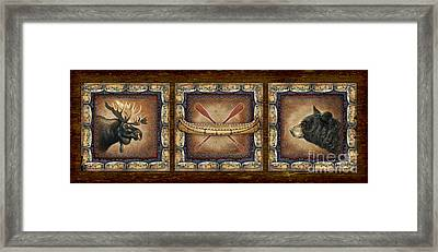 Lodge Panel Framed Print by Joe Low