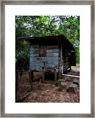 Lodgings Framed Print by Sarita Rampersad