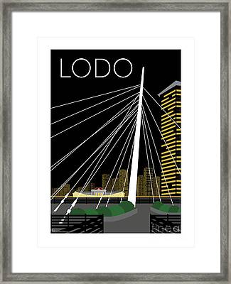 Lodo By Night Framed Print