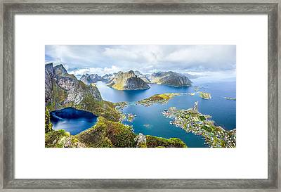 Lofoten Framed Print by Alex Conu