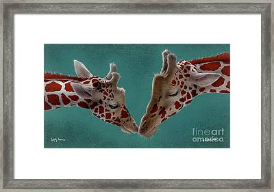 Lofty Lovers... Framed Print by Will Bullas