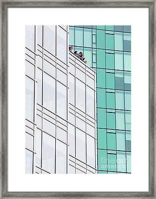 Framed Print featuring the photograph Lofty View by Chris Dutton
