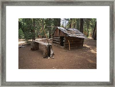 Log Cabin Framed Print by Soli Deo Gloria Wilderness And Wildlife Photography