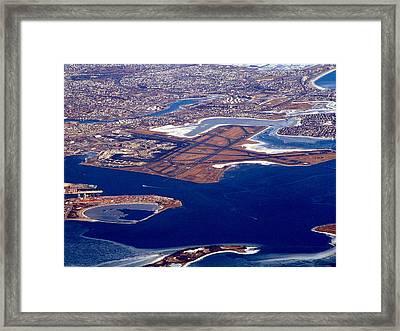 Logan Airport Framed Print