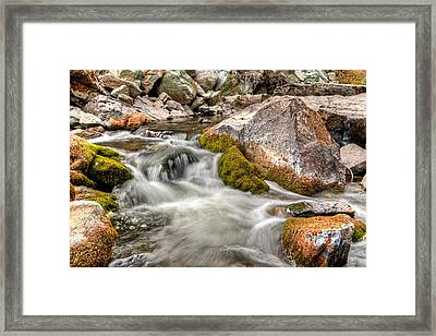 Logan Creek, Montana 2 Framed Print