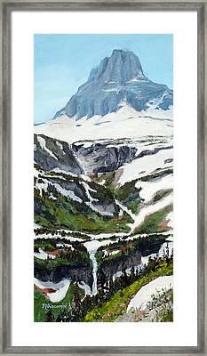 Logan Pass Framed Print