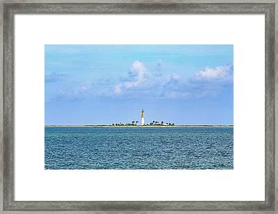 Loggerhead Lighthouse Framed Print by Teresa Wilson