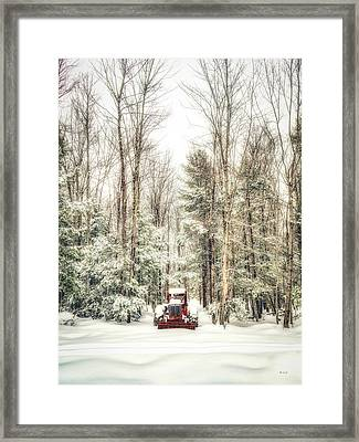 Loggers Day Off Framed Print