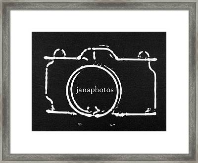 Framed Print featuring the digital art Logo by Jana Russon