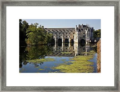 Loire Chateaux Chenonceau Framed Print