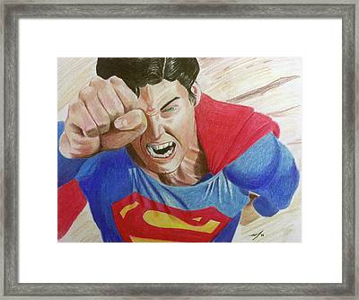 Lois' Death Framed Print by Michael McKenzie