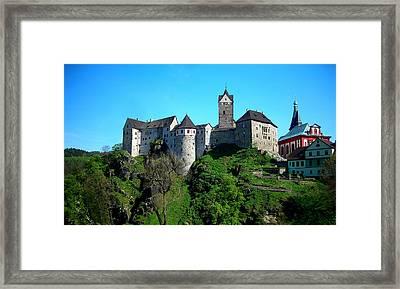 Loket Castle  Framed Print by Juergen Weiss