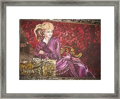Lola Montez Framed Print by Lila Witt Locati