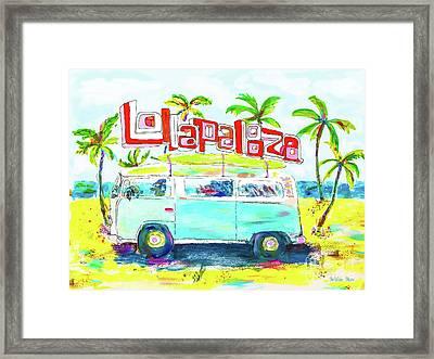 Lollapalooza Framed Print