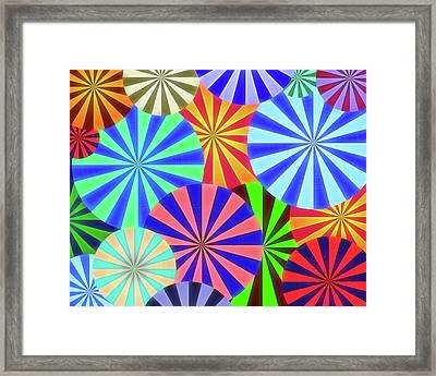 Lollipops Framed Print by Dan Sproul