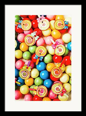 Confectioneries Framed Prints