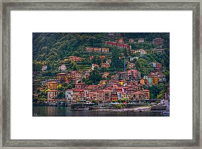 Lombard Town Framed Print