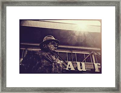 Lombardi - Shadow Of Greatness Framed Print