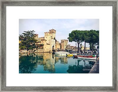 Sirmione Canvas Print -  Lombardy Region - Framed Print by Luca Lorenzelli