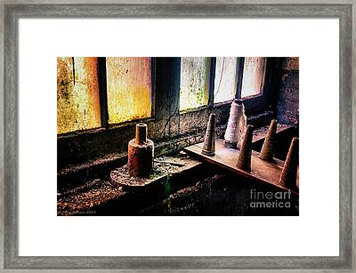 Lonaconing Silk Mill Iv Framed Print by Arne Hansen